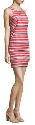Trina Turk Striped Sleeveless Dress