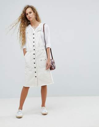 Pepe Jeans Utility Denim Overall Dress