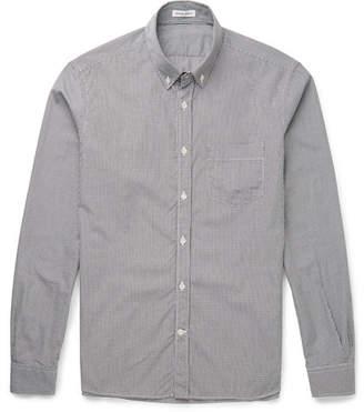 Tomas Maier Slim-Fit Button-Down Collar Gingham Cotton Shirt