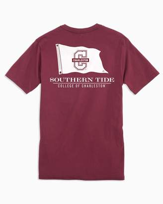 Southern Tide Gameday Nautical Flags T-shirt - College of Charleston