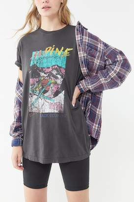 Urban Outfitters Alpine Skiing Washed Cotton Tee