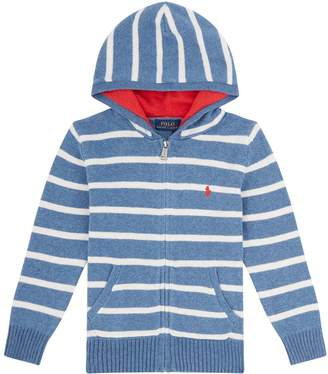 Polo Ralph Lauren Striped Zip Hoodie
