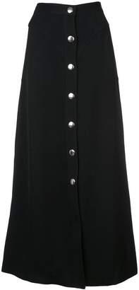 Giambattista Valli buttoned long skirt