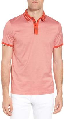 BOSS Hugo Regular Fit Prout Tipped Polo