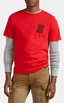Saturdays NYC Men's Logo Cotton T-Shirt - Red