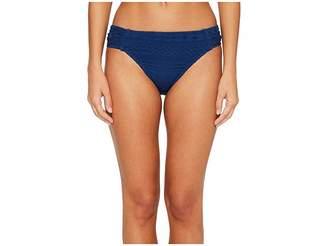 Bleu Rod Beattie Crochet Ole Side Tab Hipster Bikini Bottom Women's Swimwear