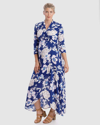 Harper Maternity Wrap Dress