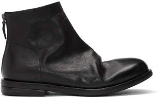 Marsèll Black Listolo Tronchetto Boots