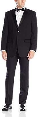 Perry Ellis Men's Two Button Slim Fit Tuxedo