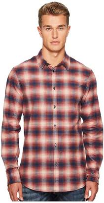 DSQUARED2 Check Metal Wired Collar Shirt Men's Clothing