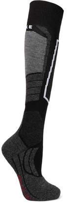 Falke Ergonomic Sport System Sk2 Knitted Socks - Black