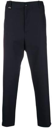 Oamc high-waisted cropped trousers