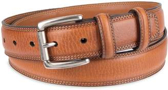 Chaps Men's Dress Leather Belt