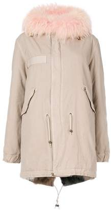 Mr & Mrs Italy midi parka coat