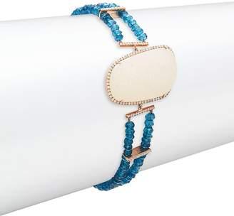 Meira T Women's Diamond & 14K Rose-Gold Bracelet