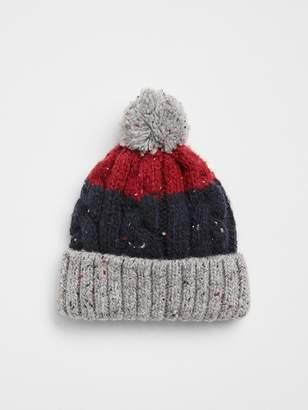 Gap Stripe Pom Hat