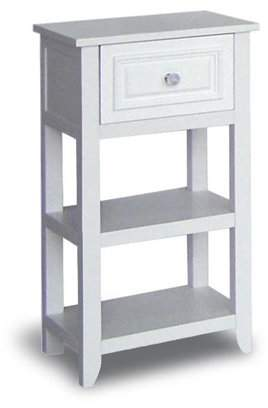 Elegant Home Fashions Doba-BNT Dawson floor Cabinet With One drawer and shelves