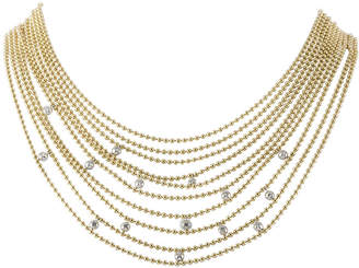 Cartier Heritage  18K Two-Tone 0.15 Ct. Tw. Diamond Necklace