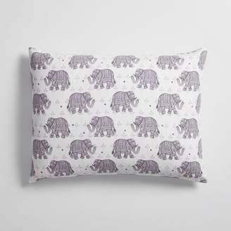 Pottery Barn Teen Winter Elephant Flannel Standard Sham