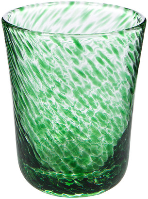 William Yeoward Vanessa Old Fashioned Tumbler - Green
