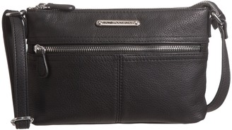 Stone Mountain USA Butter Leather East/West Crossbody Bag