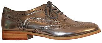 Wanted Womens Babe Almond Toe Oxfords