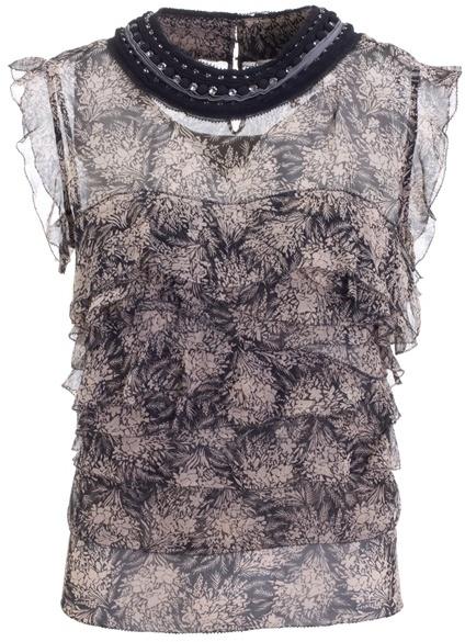 3.1 PHILLIP LIM - Fantasia silk blouse