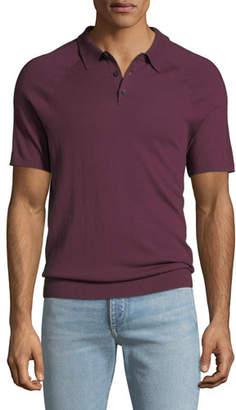 Michael Kors Men's Sleeve-Detail Polo Shirt