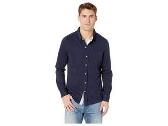 Toes on the Nose Eagle Long Sleeve Knit Button Down