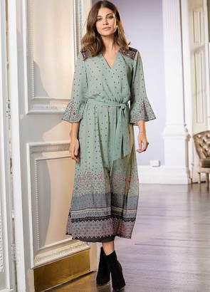 Together Print Midi Dress