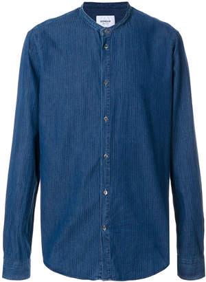 Dondup mandarin collar denim shirt