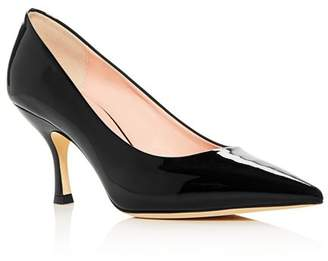 Kate Spade Women's Sonia Patent Leather Kitten-Heel Pumps