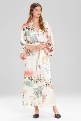 Josie Natori Watercolor Robe