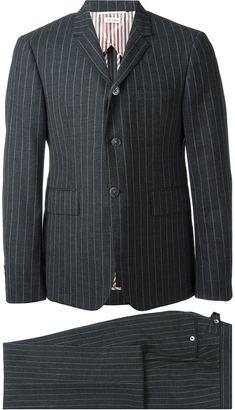 Thom Browne pinstripe suit $3,713 thestylecure.com