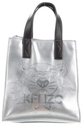 Kenzo Metallic PVC Tiger Tote Bag