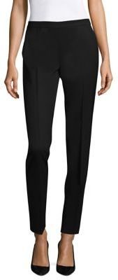 Lafayette 148 New York Bleecker Stretch Wool Pants $348 thestylecure.com