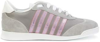DSQUARED2 sneakers with pink detail