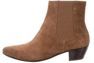 Common Projects Woman by Suede Ankle Boots