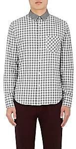 Rag & Bone Men's Yokohama Checked Cotton Shirt - Gray