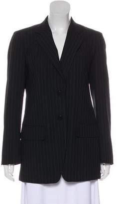 DKNY Long Sleeve Pinstripe Blazer