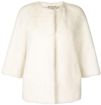 Yves Salomon short fur jacket
