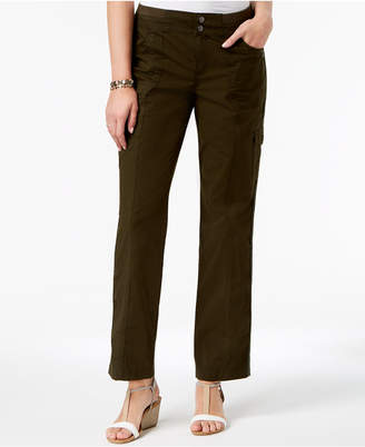 Style&Co. Style & Co Petite Convertible Cargo Pants, Created for Macy's