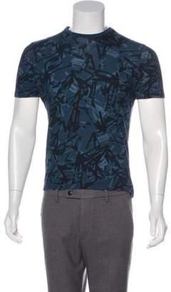 Lanvin Brush Stroke Print T-Shirt