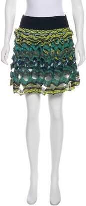 Diane von Furstenberg Gunita Silk Skirt