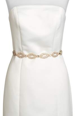 Kate Spade Fish Eye Crystal Bridal Belt