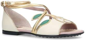 Gucci Leather Bianca Sandals