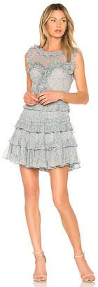 Rebecca Taylor Vine Ruffle Dress