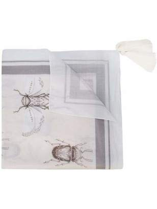 Johanna Ortiz Insect Print Tassel Scarf