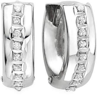 FINE JEWELRY Diamond Fascination 14K Gold Hoop Earrings