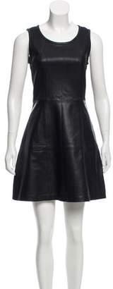 Calvin Klein Jeans Leather Mini Dress